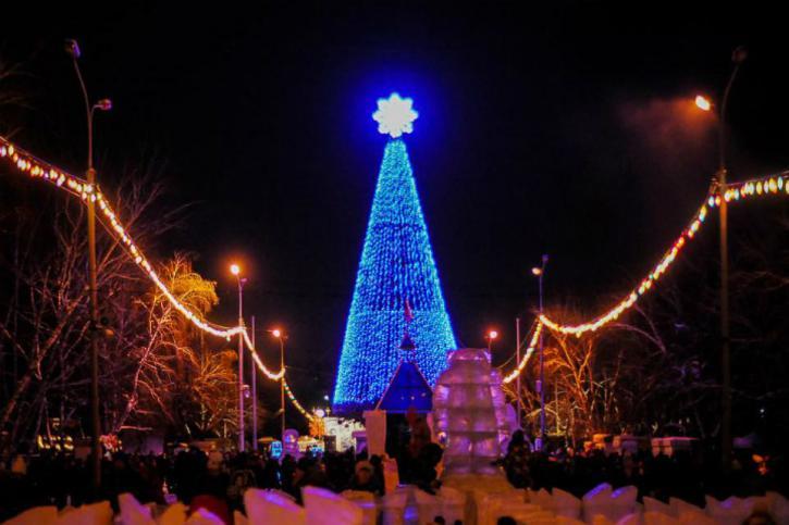 Отмечаем Новый год 2020 в Омске
