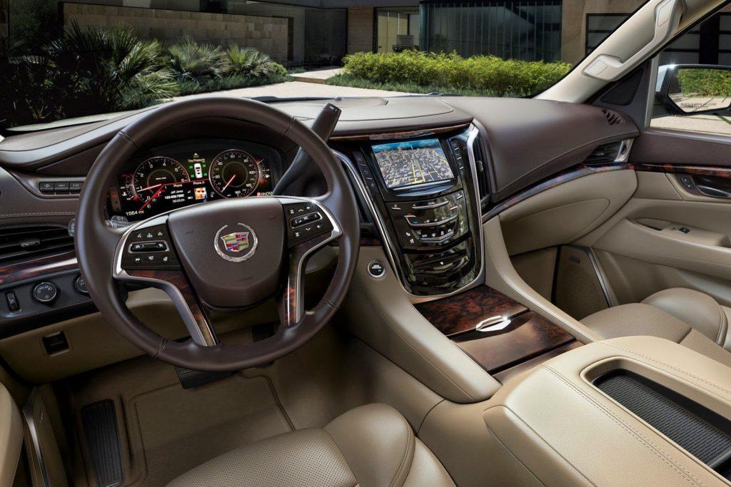 Новинка Cadillac Escalade в 2020 году